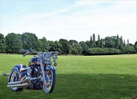 Motorbike, Speed, Motorcycle, Bike, Transportation