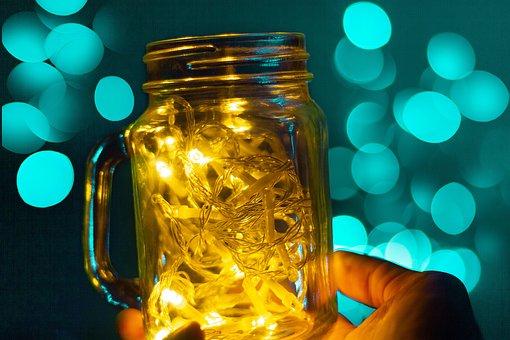 Bokeh, Lights, Light, Glitter, Blur, Party, Texture