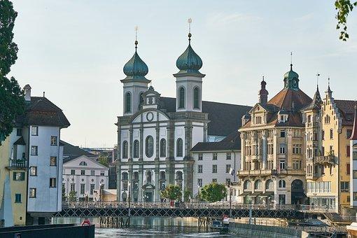 Lucerne, Switzerland, Tourism, Famous, City, Landmark