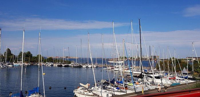 Port, Water, Sea, Boat, Travel, Bay, Sailing Boat, Ship