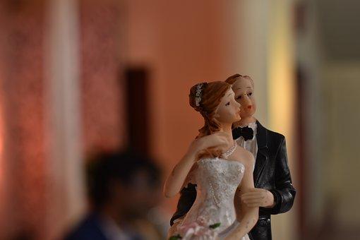 Wedding, Dolls, Toys, Bride, Marriage, Love, Marry