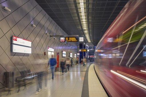 Architecture, Railway Station, Urban, Tunnel, Traffic