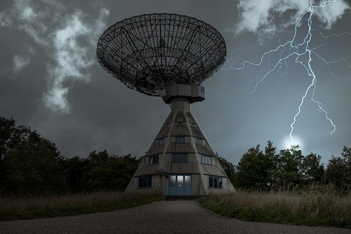 Astropeiler, Radio Telescope, Stockert, Research