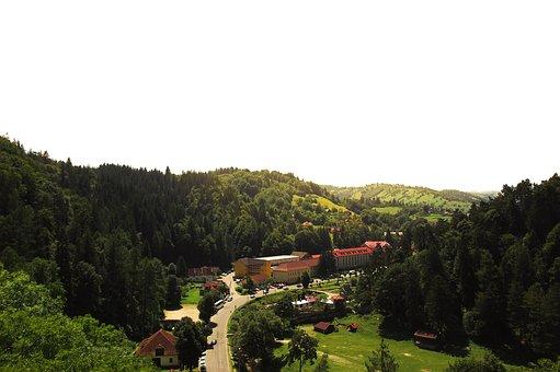 Bran, Romania, Outlook, Valley, Bottom Station, Dracula