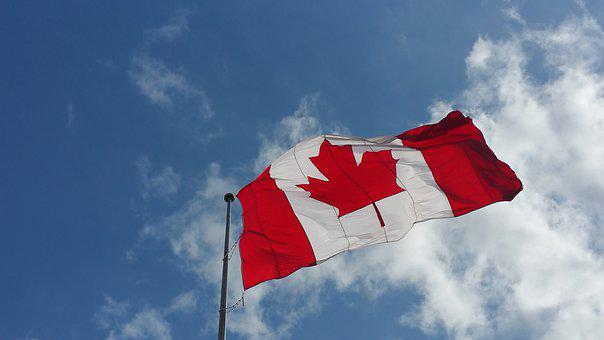 Canadian Flag, Canada, Flag, Country, National