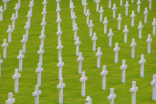 Military Cemetery, War Graves, France, Cemetery