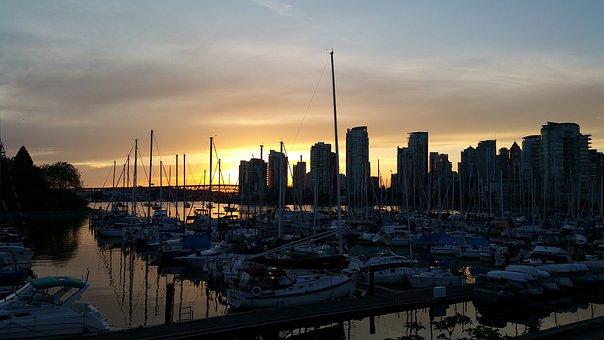False Creek, British Columbia, Vancouver, City, Skyline