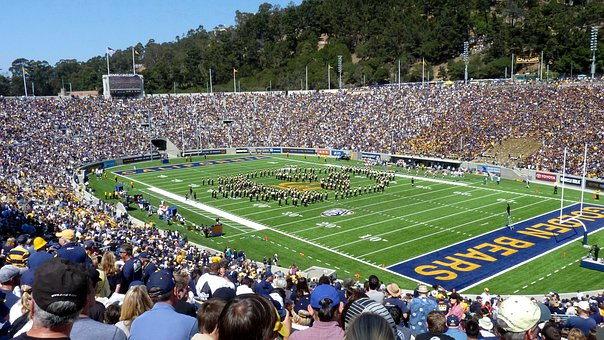 Marching Band, College Band, Football, Berkeley, Cal