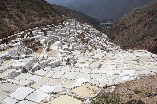Salineras De Maras, Cusco, Cuzco, Peruvian, Tourism