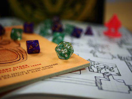 Dungeons And Dragons, Dungeons Dragons, D D, Dice, Game