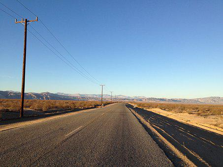 Road, Desert, Landscape, Highway, Asphalt, Scenic, Dry
