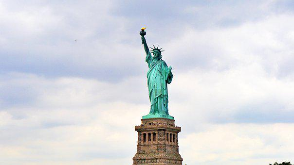 Statue Of Liberty, Freedom Stature, Usa, America