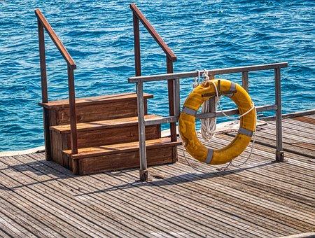 Wood, Sea, Maldives, Nature, Head, Stairs, Concept