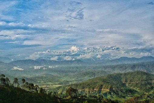 Hills, Mountains, Landscape, Nature, Outdoors, Sky