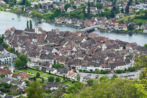 Stein Am Rhein, Roofs, Historic, Switzerland, Medieval