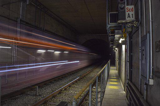 Tunnel, Ubahn, Subway, Transport, Underground, Metro