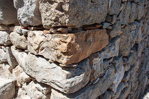Wall, Stones, Castle, Old, Pattern, Rock