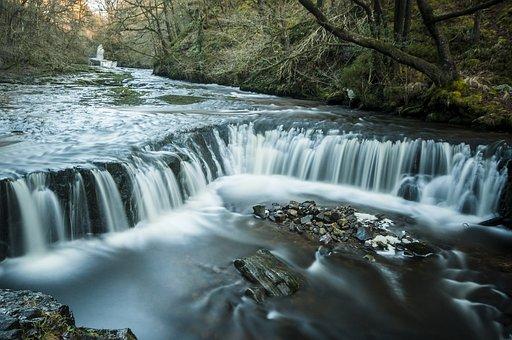 Water, River, Landscape, Nature, Rock, Outdoors, Stones