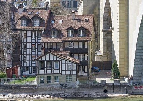 Nydegg Bridge, Mattenquartier, Berne, Switzerland, Bern