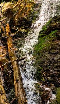 Waterfall, Nature, Water, Landscape, Stream, Cascade