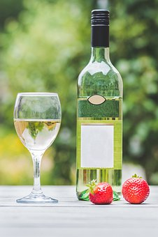 White Wine, Alcohol, Wine, Drinking, Glass, Wine Glass