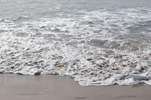 Is, Sea, Waves, Galicia, Ferrol, Ocean, Atlantic, Beach