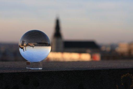 Lensball, Church, Brussels, Belgium, Crystal