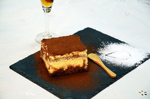 Cake, Tiramisu, Chocolate, Cream, Pastry, Sweet