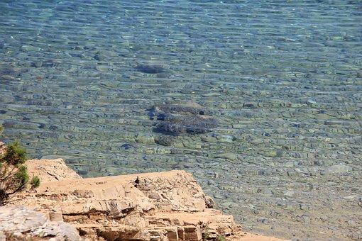 Water, Stone, Sea, Cliff, Beach, Nature, Beautiful