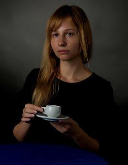 Coffee, Cup, Portrait, Caffeine, Aroma, Drink