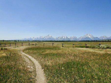 Grand Teton, National Park, Mountains, Scenic, Nature