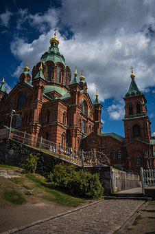 Helsinki, Finland, City, Architecture, Finnish
