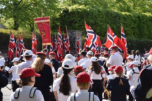 The Karl Johans Gate, Charles, Johan, Oslo, Norway