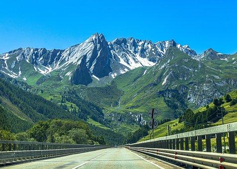 Switzerland, View, Mountains, Landscape, Panorama