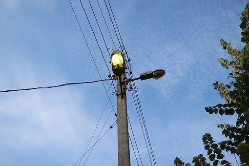 Lantern, Lamp, Lighting, Light, Day, Sky, City, Street