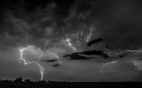 Storm, Lightning, Nature, Thunderstorm, Thunder