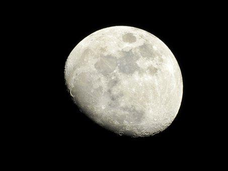 Moon, Night, Moonlight, Nature, Astronomy, Atmosphere