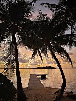 Tahiti, Bora Bora, Pontoon, Sea, Travel, Paradise