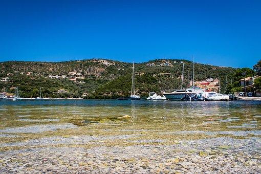 Greece, Boats, Sea, Water, Porto, Sky, Holiday, Costa