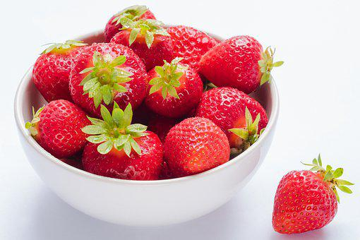 Strawberries, Red Fruit, Fruit, Red, Fruits, Sweet