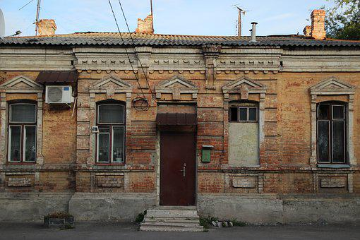 Street, House, Building, Yard, Architecture, Old