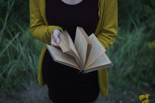 Book, Page, Sheet, The Text Of The, Literature, Girl