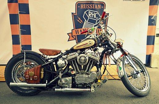 Motorcycles, Motorcycle, Retro, Speed, Transport, Biker