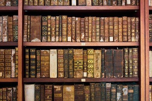 Books, Museum, Old, Science, Exhibitor, University