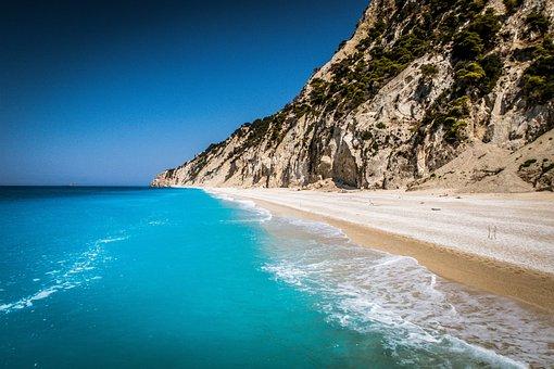 Sea, Beach, Costa, Sand, Sassi, Water, Summer, Holiday