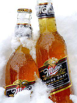 Snow, Beer, Winter, Drink, The Drink, Cold, Alcohol