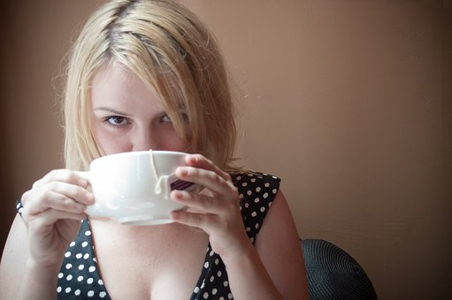 Woman, Coffee, Girl, Cup, Tea, Person, Young, Female