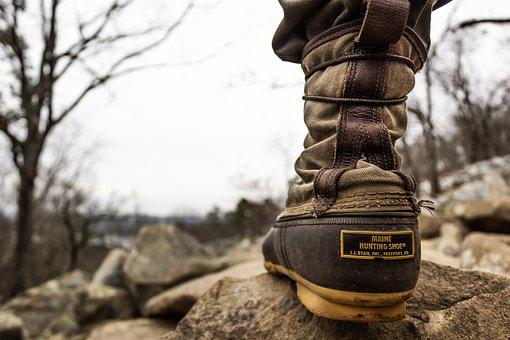 Hiking, Boot, Outdoor, Nature, Adventure, Travel