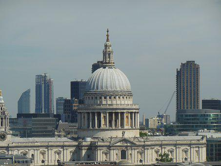 Stpouls, London, City, England, Urban, Architecture
