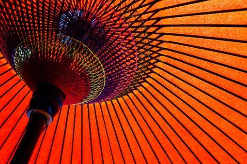 Japan, Umbrella, Asia, Japanese Umbrellas
